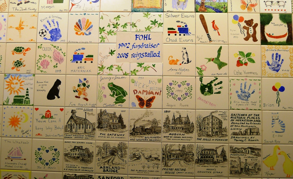 FOHL Tile Wall Fundraiser